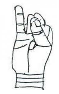 9.Apana Vayu Mudra -Mudra of the Heart