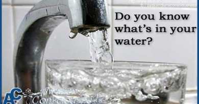 DON'T DRINK TOXIC TAP WATER