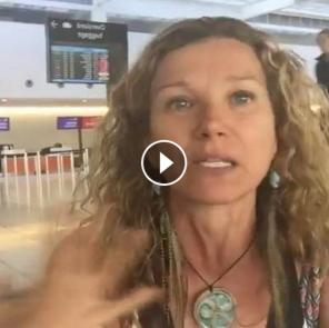 PESTICIDES SPRAYED ON PASSENGER FLIGHT