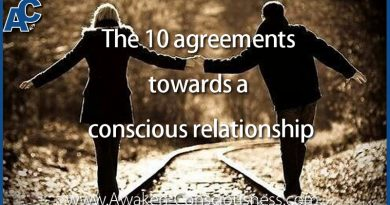 The 10 agreements towards a conscious relationship