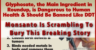 Monsanto Is Scrambling To Bury This Breaking Story