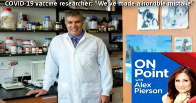 covid vaccine researcher - we have made a horrible mistake
